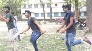 Baba Amar ki Biye hobe na | Funny dance by nadim imran and ashraful