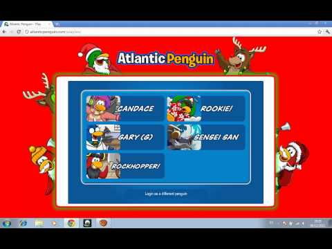 Como registrarse en atlantic penguin