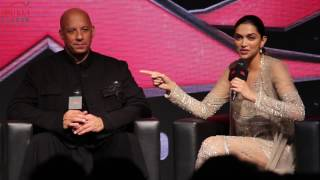 Uncut- XXX - Hollywood Movie 2017 - Full Press Conference In India- Depika Padukan I Vin Diesel