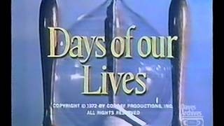 Dave's Archives: Days of our Lives Intro 1978