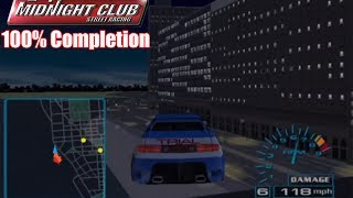 Midnight Club: Street Racing 100% Completion