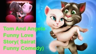 हसना नहीं |Talking tom funny Cat videos|latest funny video 2017|talking tom & friend video in hindi9