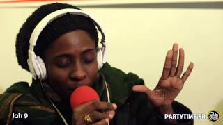 JAH 9 - Freestyle at Party Time radio show - 22 MARS 2015