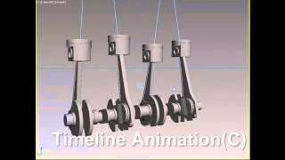 Piston Crankshaft Animation