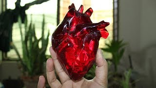 How to Make This Heart | Resin Art