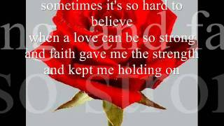 love of my life lyrics-jim brickman, michael w smith