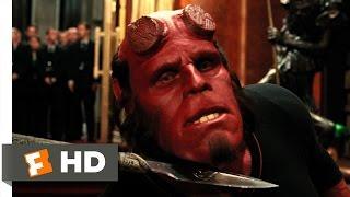 Hellboy 2: The Golden Army (8/10) Movie CLIP - Prince Nuada vs. Hellboy (2008) HD