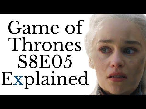 Xxx Mp4 Game Of Thrones S8E05 Explained 3gp Sex