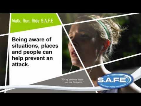 Walking alone, bikeway attack Video