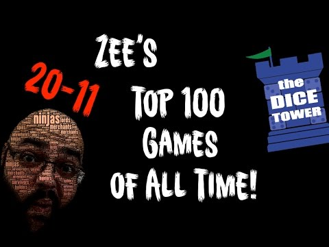 Zee's Top 100 Games of All Time - 20 to 11