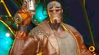Injustice 2 PC - All Super Moves on Demon Hellboy 4K Ultra HD Gameplay