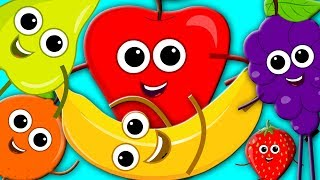 Learn Colors With Fruits The Colors Song Nursery Rhymes Fruits Song Kids Tv  Learn Colors S01E11