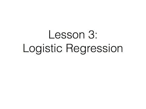 R Course: Lesson 3
