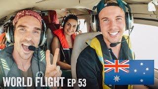 FLYING TO AUSTRALIA?! - World Flight Episode 53