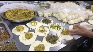 paratha kings of waterpump | street food of karachi Pakistan.