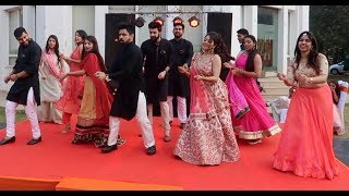 SANGEET DANCE PERFORMANCE | INDIAN WEDDING | GALAAN GOODIYAN