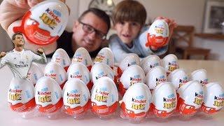 Cristiano Ronaldo CR7 in Kinder Joy Egg
