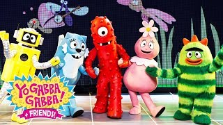 Yo Gabba Gabba! Family Fun - YO GABBA GABBA LEARNING PARTY   Kids Songs   DJ LANCE ROCK   BABY SONGS