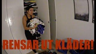Städvlogg | Rensar i garderoberna & städar på kontoret!
