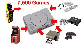 Play 10+ Retro Systems on The Playstation Classic - NES, Dreamcast, Super Nintendo, and More
