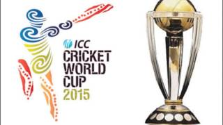 ICC World Cup 2015 Official Theme Song .