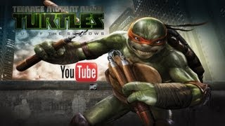 Teenage Mutant Ninja Turtles Out of the Shadows (Game Movie)