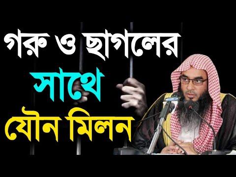 Xxx Mp4 গরু ও ছাগলের সাথে যৌন মিলন Bangla Lectures Short Video 2018 মতিউর রহনান মাদানী 3gp Sex