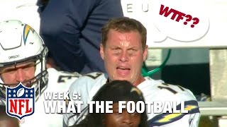 3 Worst Plays (Week 5) | WTF: What The Football?! | NFL Now