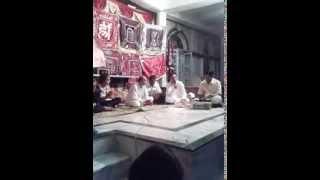 PRADEEP JAIN PAYAL AT KAVI SAMMELAN IN JAIN MANDIR WARASEONI 18 09 2013