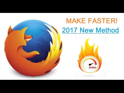 Xxx Mp4 NEW 2017 How To Make FIREFOX Faster Dramatically Speedup Performance 3gp Sex