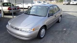 Short Takes: 1999 Toyota Corolla (Start Up, Engine, Tour)