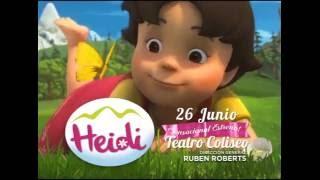 HEIDI EN LA ARGENTINA. TEATRO COLISEO