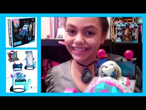 Monster High Frankie Stein Mirror Bed Review