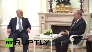 Russia: Putin and Iraqi PM discuss IS advances in Iraq