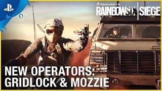 Rainbow Six Siege: Operation Burnt Horizon – Gridlock & Mozzie Trailer   PS4