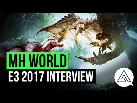 Monster Hunter World | E3 Interview - New Gameplay Changes & More!