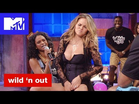 Xxx Mp4 Chrissy Teigan Gets Touchy Feely For Michael Strahan Bad Booty Est Moments Wild N Out MTV 3gp Sex