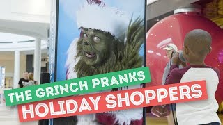 The Grinch Pranks Florida Mall Shoppers