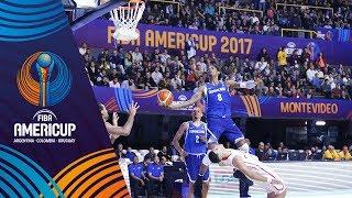 Panama vs Dominican Republic - Highlights - Group C - FIBA AmeriCup 2017