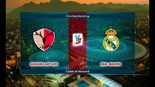 KASHIMA ANTLERS vs REAL MADRID | FIFA Club World Cup | PES 2019 Gameplay