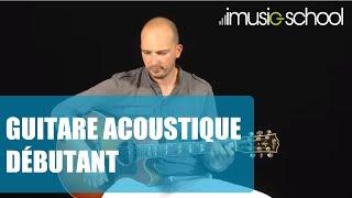 Cours de guitare acoustique débutant