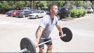 Snatch Practice with Dan Bailey