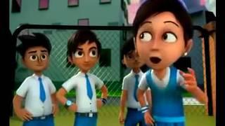 First Day School Cartoon in URDU