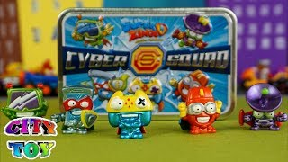Cyber Squad La lata de los Super Zings Exclusivos llega a City Toy