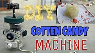 HOW TO MAKE COTTON CANDY MACHINE / DIY COTTON CANDY MACHINE