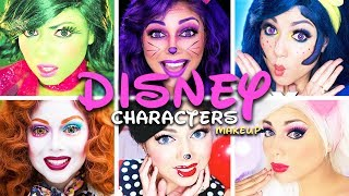Disney Characters MAKEUP Compilation! | Charisma Star