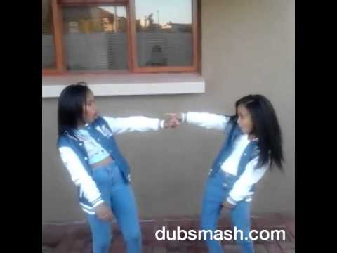 Sister goals ♡ Dubsmash!! 9 year old twins