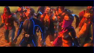 Mortal Kombat Armageddon Intro HD
