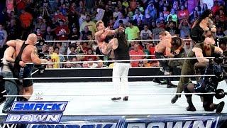 10-Man Tag Team Match: SmackDown, Sept. 5, 2014