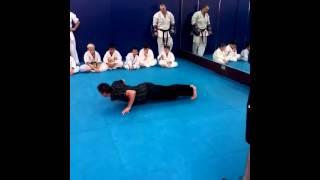 Mark Dacascos performing kicks and showing his skills (2015) Must see!